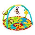 Hracia deka s hrazdou Bright Starts Stars Pal Around Jungle™ modrá/zelená/oranžová