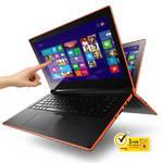 Notebook  Lenovo IdeaPad Flex 14 Touch (59416274) čierny/oranžový