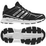 Obuv  Adidas adifast K - vel. 6 UK čierna/strieborná/biela