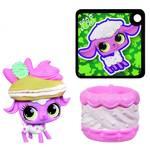 Littlest Pet Shop Hasbro sladká schovávající se zvířátka v košíčcích -růžové