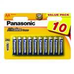 Batéria Panasonic AA, R06 ALKALINE POWER, BLISTR 10 KS