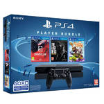 Herná konzola Sony PlayStation 4 500GB +  Driveclub + The Last of Us + Little Big Planet 3 (PS719891819)