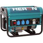 Elektrocentrála HERON EGM 25 AVR, benzínová 5,5 HP modrá/zelená