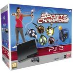 Hern konzola Sony PS3 320GB + MOVE StarterPack (PS719198895) ierna