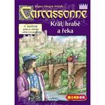 Hra Mindok Carcassonne - rozšíření 6 (Král, hrabě a řeka)