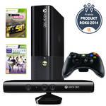 Herná konzola Microsoft Xbox 360 4GB + Kinect senzor + Forza Horizon + Kinect sports 1 čierna