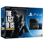 Herná konzola Sony PlayStation 4 500GB + hra The Last of Us (PS719812012) čierna
