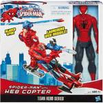 Spiderman figurka s vrtulníkem Hasbro