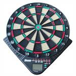 Terč na šípky Harrows elektronický 180 - pro 8 hráčů, 141 herních variant, 1 display