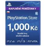 Predplatená karta Sony PSPGO, PS VITA, PS3, PS4, PSP v hodnotě 1000,- kč (PS719238997)