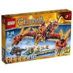 Stavebnica Lego CHIMA 70146 Létající ohnivý chrám Fénix