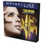 Darčekový balíček Maybelline Colossal (řasenka, tužka na oči)