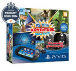 Herná konzola Sony PS VITA PCH 2000 Adventure Pack + 5 her + paměťová karta 8GB (PS719824732)