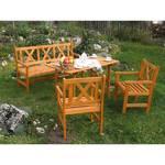 Záhradný nábytok Royal Alpen dřevěný, oranžový oranžový