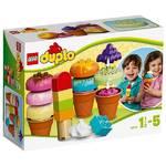 Stavebnica Lego DUPLO Kostičky 10574 Postav si zmrzlinu