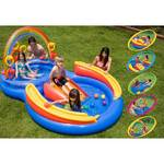 Bazén Intex Rainbow Ring Play Center 2,97x1,93x,135 m - dětský