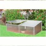 Pařeniště CEV 200 x 60 x 40 cm  polykarbonát