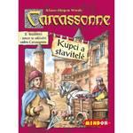 Hra Mindok Carcassonne - rozšíření 2 (Kupci a stavitelé)