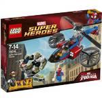 Stavebnica Lego Super Heroes 76016 Pavoučí záchranný vrtulník