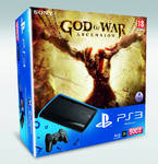 Hern konzola Sony PS3 500GB + God of War Ascension (PS719278252)