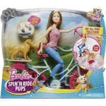 Barbie Mattel cyklistka a psí akrobati