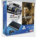 Herní konzole Sony PS3 500GB + GranTurismo 5 Academy + Uncharted 3 (PS719285632)