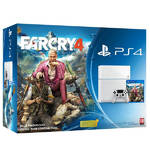 Herná konzola Sony PlayStation 4 500GB + Far Cry 4 (PS719871613) biela