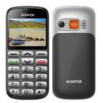Mobilný telefón Aligator A870 Senior + stojánek (A870) čierny