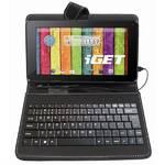 """Puzdro s klávesnicou na tablet Eaget Soho F7B univerzal, 7"""" (F7B) čierne"""
