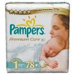 Plienky Pampers Premium Care Premium Care Newborn vel. 1, 78 ks