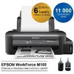 Tlačiareň atramentová Epson WorkForce M105, CIS (C11CC85301) čierna