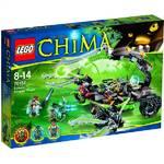 Stavebnica Lego CHIMA-herní sady 70132 Scormův škorpióní útočník