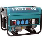 Elektrocentrála HERON EGM 30 AVR, benzínová 6,5 HP modrá/zelená