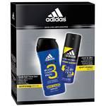 Darčekový balíček Adidas Sport Energy (antiperspirant, sprchový gel)