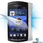 Ochranná fólia Screenshield na displej + carbon skin (stříbrná) pro Sony Ericsson Xperia PLAY (R800i) (SE-XPPL-CS)