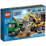 Stavebnica Lego City 4203 Mining Přeprava rypadla