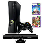 Hern konzola Microsoft Xbox 360 4GB Kinect + Kinect Adventures + Disneyland (S4G-00070) ierna