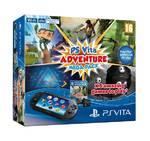 Herná konzola Sony PS VITA PCH 2016 Adventure Pack + 5 her + paměťová karta 8GB (PS719824732) čierne