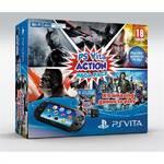 Herná konzola Sony PS VITA PCH-2000 Action Mega Pack + 5 her + paměťová karta 8GB (PS719469216) čierna