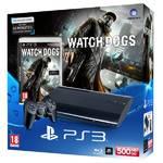 Herná konzola Sony PlayStation 3 500GB + hra Watch Dogs (PS719441519) čierna
