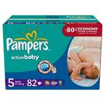 Plienky Pampers Active Baby Active Baby vel. 5, 82 ks
