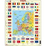 Puzzle  Larsen světadíly