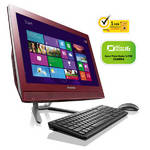 PC all in-one Lenovo IdeaCentre C460 (57327175) červený