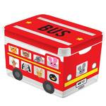 Box lon  Curver 04711-B05 L MILKY - BUS ierny/erven