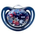 Cumlík NUK Classic Freestyle 6-18m modré