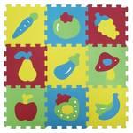 Puzzle Ludi pěnové - ovoce a zalenina