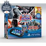 Herná konzola Sony PS VITA PCH-2000 Action Mega Pack + 5 her + paměťová karta 8GB (PS719898917) čierna
