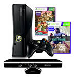 Hern konzola Microsoft Xbox 360 4GB Kinect + Kinect Aventures + Nike Fitness (S4G-00179 ) ierna