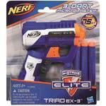 NERF elite kapesní pistole s 3 hlavněmi Hasbro