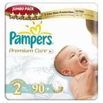 Plienky Pampers Premium Mini JP 90ks